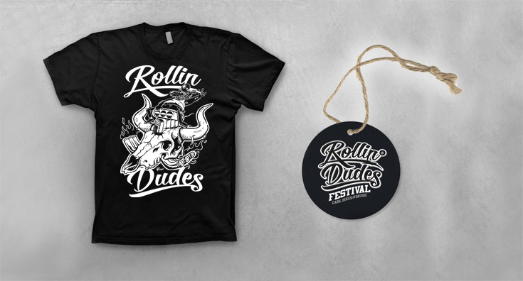 Rollin Dudes Shirt Edition Hot Rod