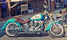Saints Bike Harley Davidson Model