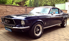 Ford Mustang Fastback BJ 1967